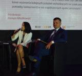 Ewa Han - wiceprezes Hasco-Lek SA i Marek Ignor - prezes DFR